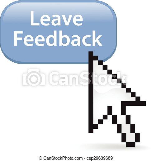Leave Feedback Button Click - csp29639689