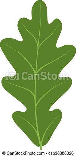 Leave icon vector illustration. - csp38388026