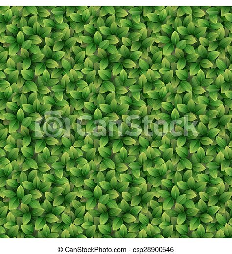Leaves seamless texture background - csp28900546