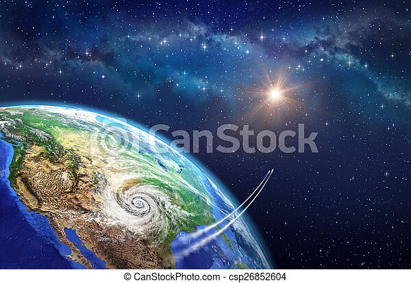 Leaving Earth Very High Definition Picture Of Planet Earth In
