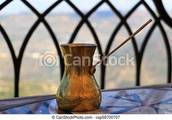 Lebanese Coffee Pot - csp58700707