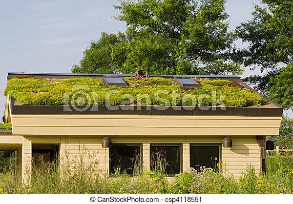 Lebanon Hills Green Roof and Gardens - csp4118551