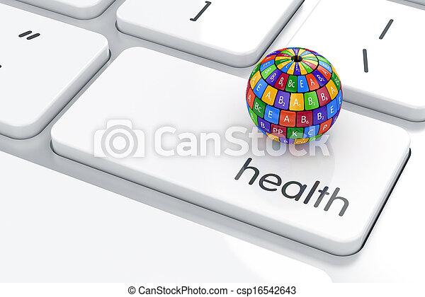leben, begriff, gesundheit - csp16542643