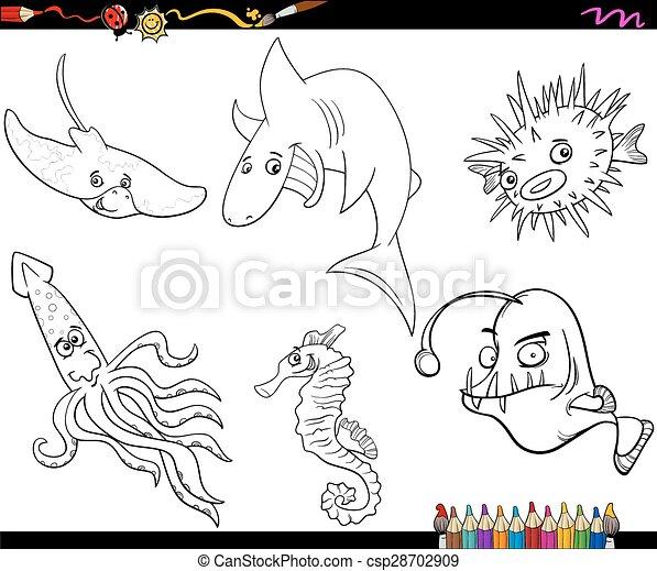 Fantastisch Tigerhai Färbung Seite Ideen - Ideen färben - blsbooks.com