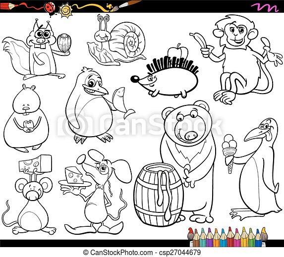 Ungewöhnlich Zoo Tiere Färbung Seite Ideen - Ideen färben - blsbooks.com