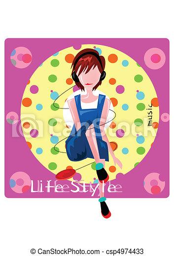 Lifestyle - csp4974433