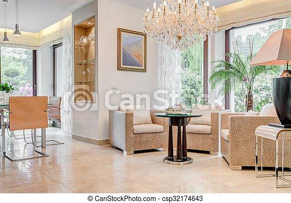 Zimmer Mit Kronleuchter ~ Lebensunterhalt kronleuchter zimmer kristall wohnzimmer