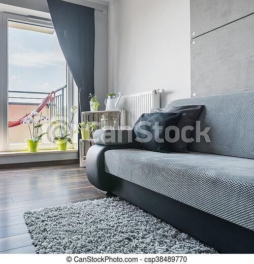 Lebensunterhalt Sofa Zimmer Gross Wohnzimmer Gross Modern Grau