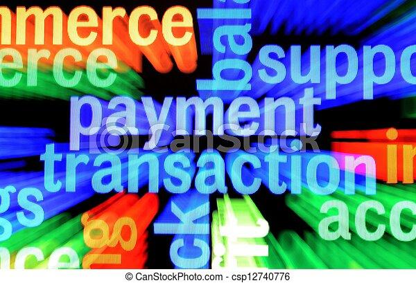 lebonyolítás, fizetés - csp12740776