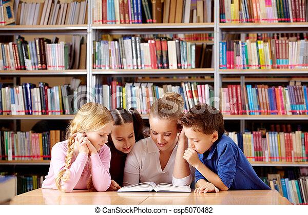 lectura, juntos - csp5070482