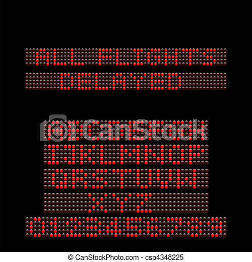 LED Display - csp4348225