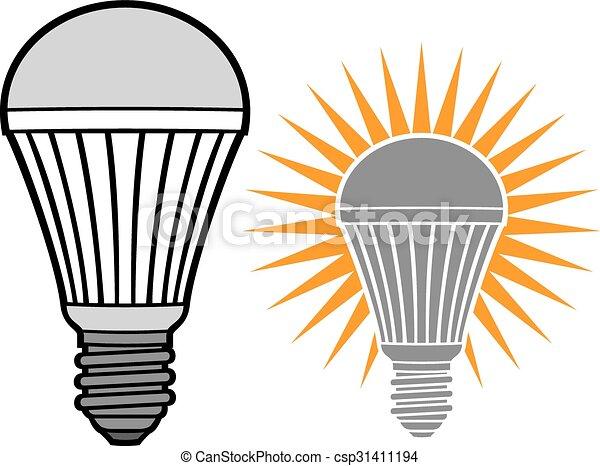led light bulb - csp31411194