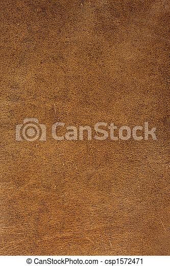 Brauner Leder Hintergrund - csp1572471