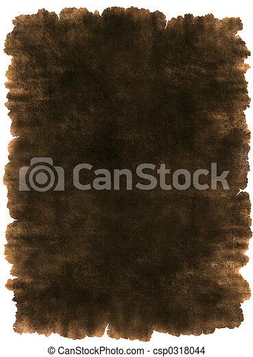 leder, oud, perkament, achtergrond, textuur - csp0318044