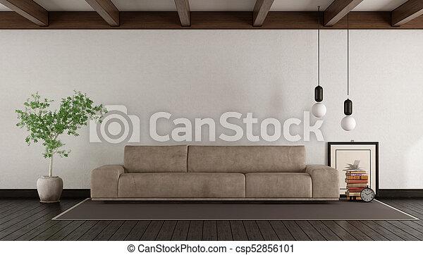 leder, wohnzimmer, sofa