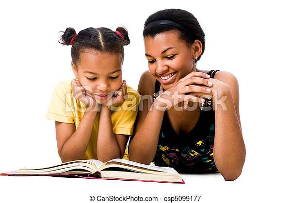 Lee el libro - csp5099177