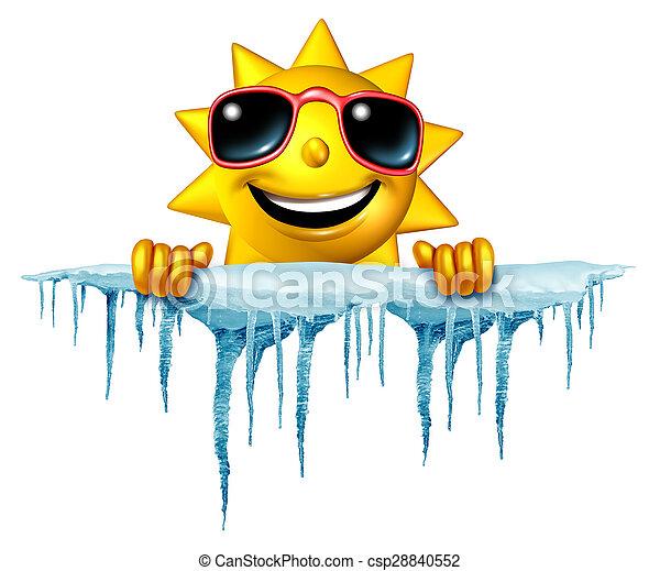 lefelé, nyár, friss - csp28840552