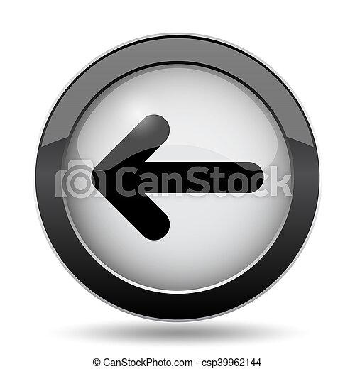 Left arrow icon - csp39962144