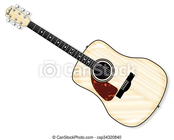 Left Handed Acoustic Guitar Csp34320840