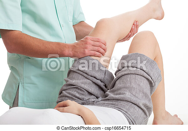 Leg massage  - csp16654715