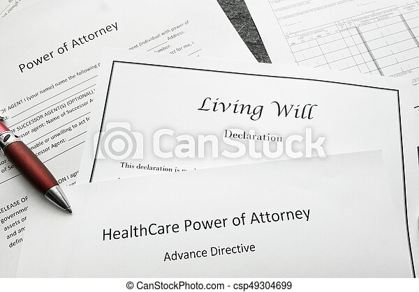 Legal And Estate Planning Power Of Attorney Living Will And - Will legal document