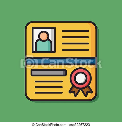 Legal document vector icon - csp32267223