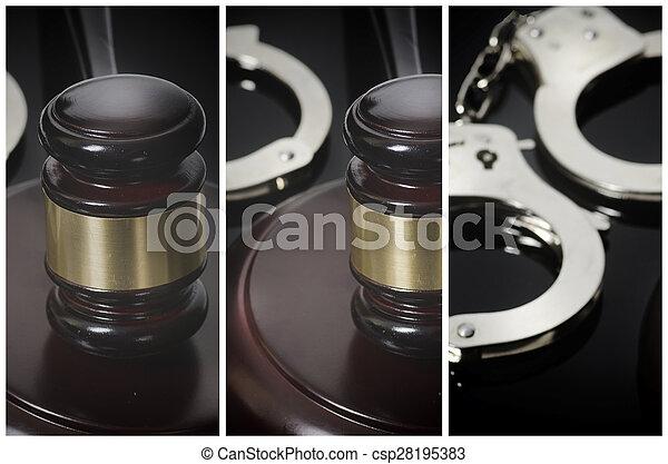 Legal law concept image - csp28195383