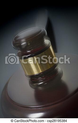 Legal law concept image - csp28195384