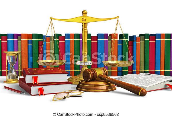 Legal or bidding concept - csp8536562