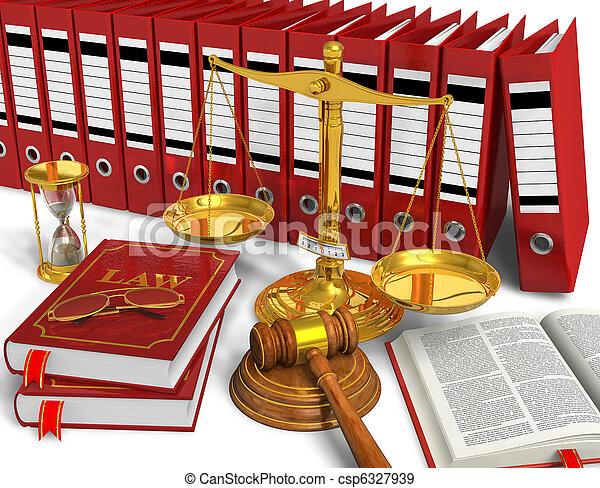 Legal or bidding concept - csp6327939