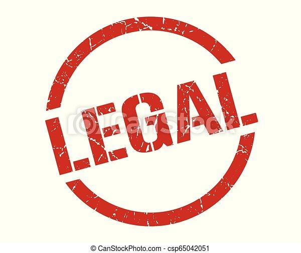 legal stamp - csp65042051