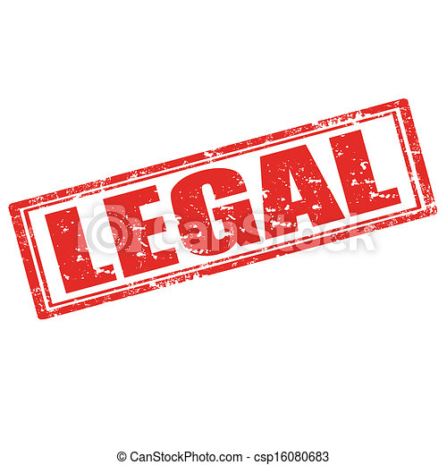 legal stamp grunge rubber stamp with word legal vector illustration