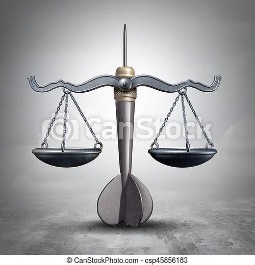 Legal Target - csp45856183