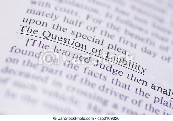 Legal Terms #1 - csp0109826