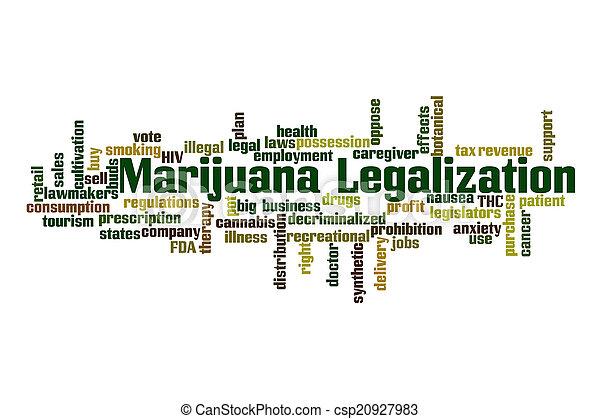 legalization, marijuana - csp20927983