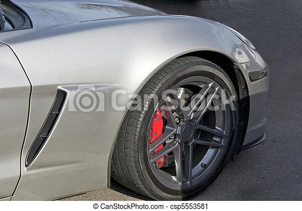 Legendary High- Performance Sports Car - csp5553581