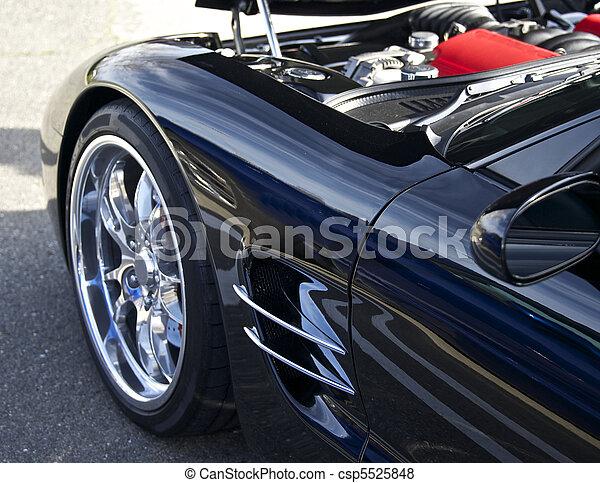 Legendary High- Performance Sports Car - csp5525848