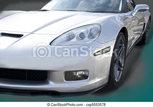 Legendary High- Performance Sports Car - csp5553578