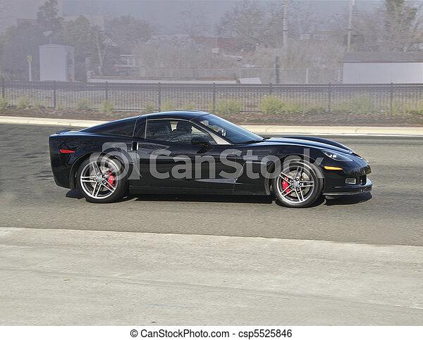 Legendary High- Performance Sports Car - csp5525846