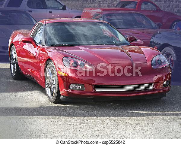 Legendary High- Performance Sports Car - csp5525842
