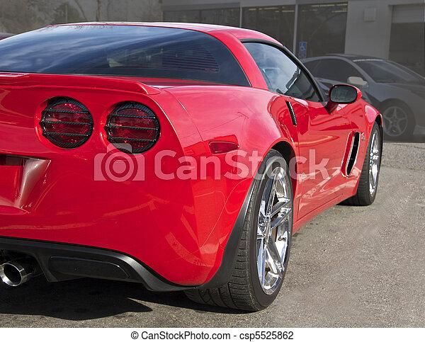 Legendary High- Performance Sports Car - csp5525862