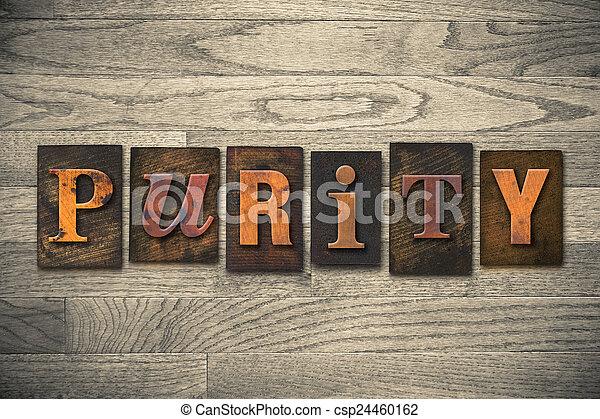 legno, concetto, tipo, purezza, letterpress - csp24460162