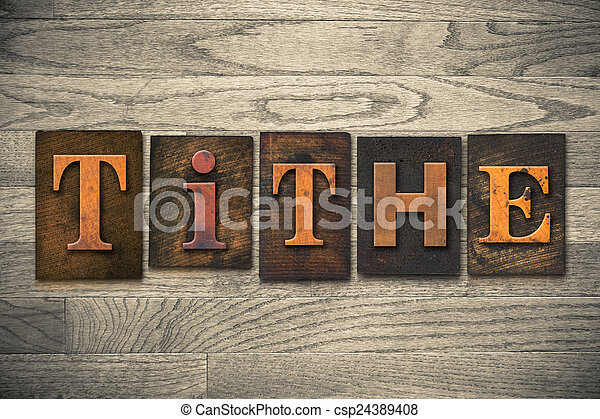 legno, decima, concetto, tipo, letterpress - csp24389408
