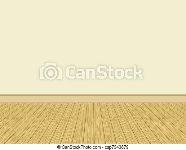 legno duro, floor. - csp7343879