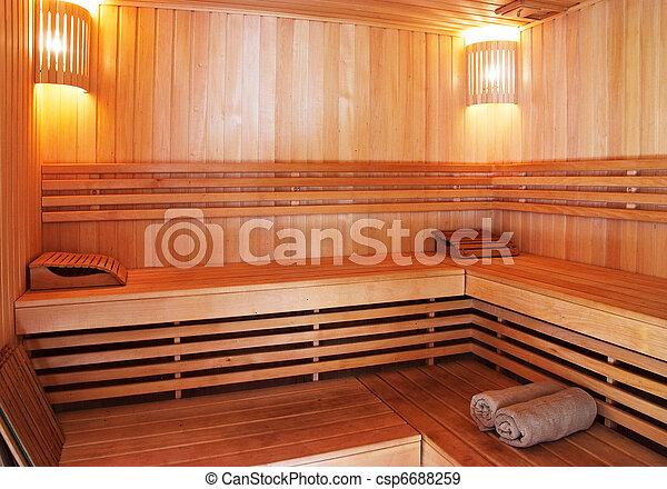 Legno, interno, pareti, panche, sauna fotografie darchivio - Cerca ...