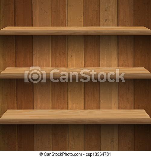 legno, mensole - csp13364781