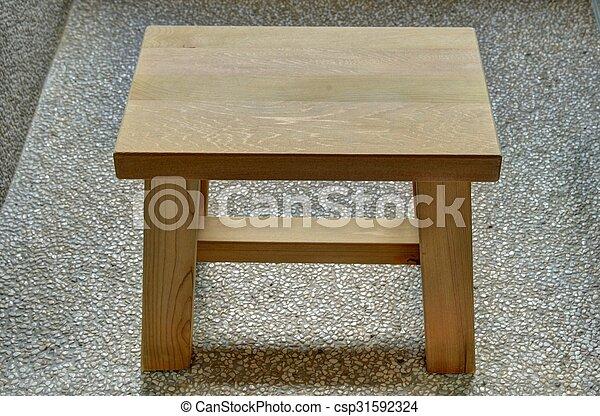 Legno sgabello legno onsen sgabello stanza giapponese