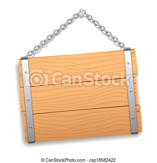 legno, signboard. - csp18582422