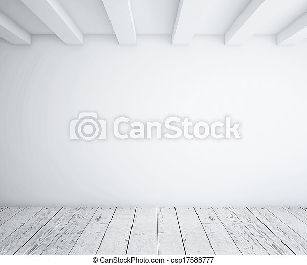 legno, soffitta, pavimento - csp17588777