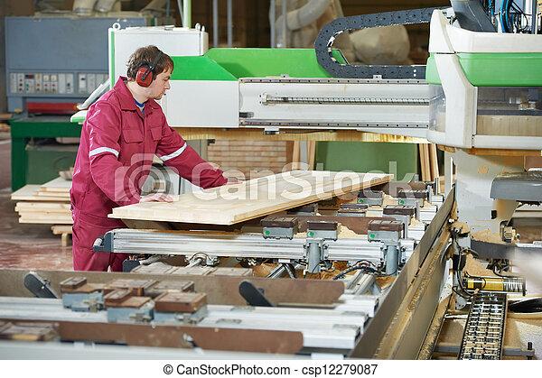 legno, taglio, closeup, croce, carpenteria - csp12279087